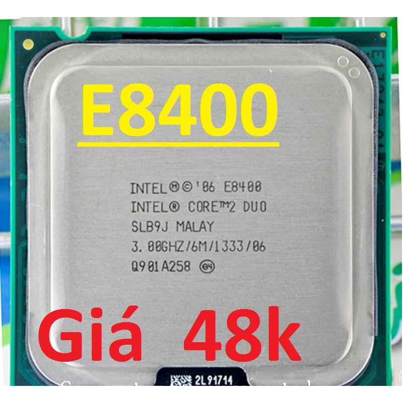 CPU PC E8400 cpu Core 2 dual E8400#E8400 – Ruby3939