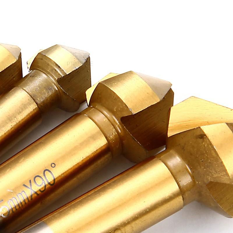 Bộ 6 mũi khoan gỗ bằng thép HSS 3mm-20.5mm