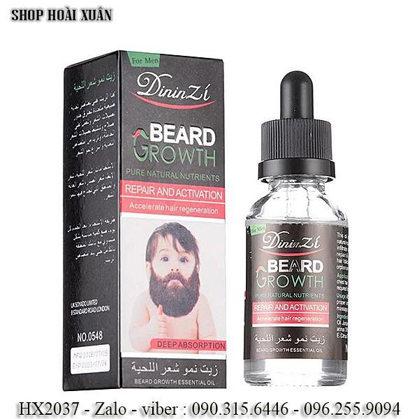 Thuốc mọc râu - Beard Growth DininZi 40ml