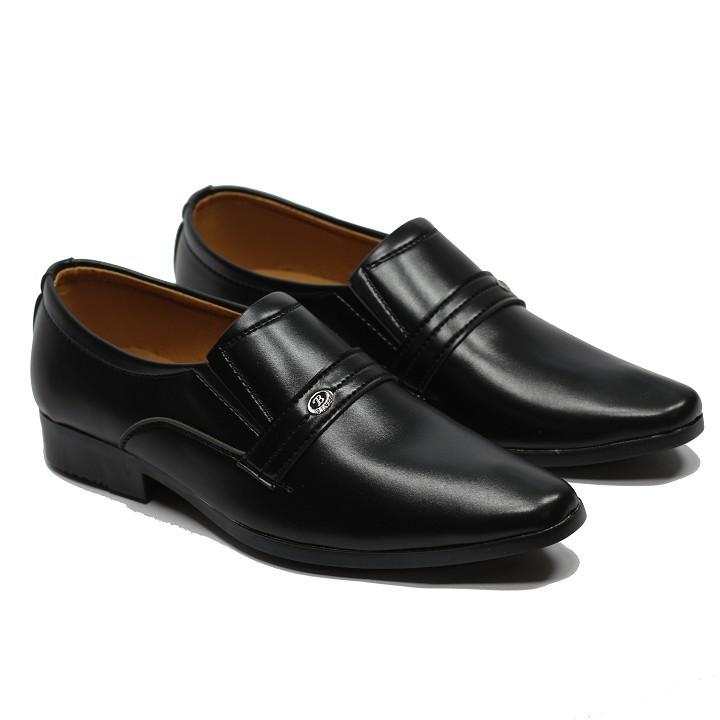 Giày tây nam công sở da mềm đế khâu size 38 đên 44 đế cao 5 cm