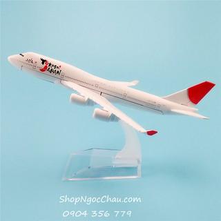 Mô hình máy bay tĩnh B747 Japan Airlines