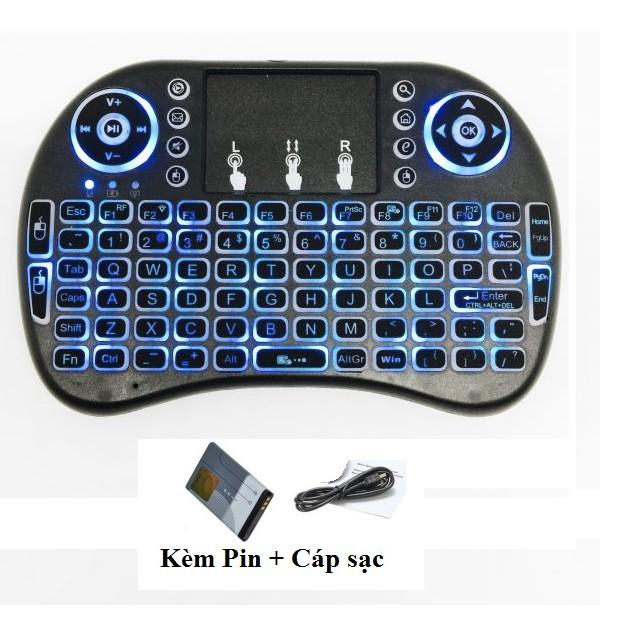 Bàn phím kiêm chuột không dây cho smart tivi có đèn led - 3171863 , 372529873 , 322_372529873 , 275000 , Ban-phim-kiem-chuot-khong-day-cho-smart-tivi-co-den-led-322_372529873 , shopee.vn , Bàn phím kiêm chuột không dây cho smart tivi có đèn led