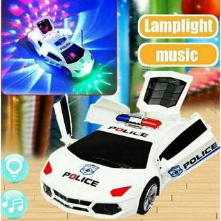 Xe Ô tô đồ chơi biến hình, có nhạc ,có đèn , xoay 360 độ