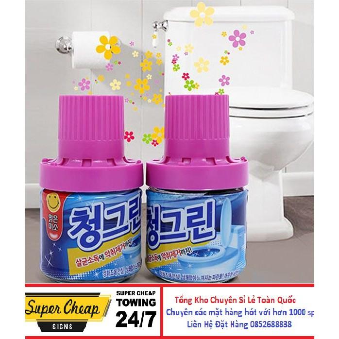 Chai thả vệ sinh bồn cầu hương ngàn hoa