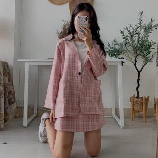 Set áo Blazer chân váy siêu đẹp hot trend