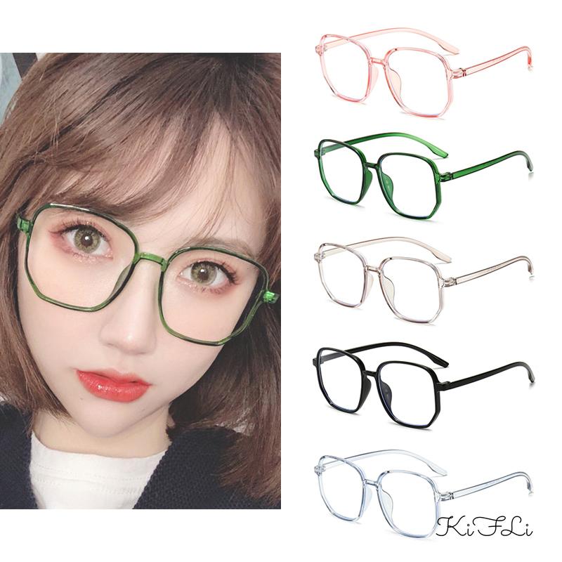 Mắt kính gọng vuông chống bức xạ & tia xanh thời trang Hàn Quốc