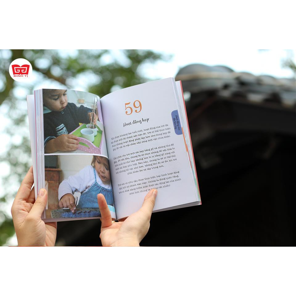 Sách - Combo 4 Cuốn Học Montessori Để Dạy Trẻ Theo Phương Pháp Montessori - Tủ Sách Shop Bố Ken