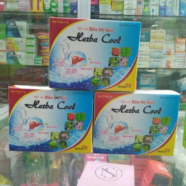 Bột sủi giải độc gan Herba Cool giá sỉ - 2603771 , 739556135 , 322_739556135 , 35000 , Bot-sui-giai-doc-gan-Herba-Cool-gia-si-322_739556135 , shopee.vn , Bột sủi giải độc gan Herba Cool giá sỉ