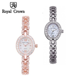 Đồng hồ nữ chính hãng Royal Crown 2100 dây đá thumbnail