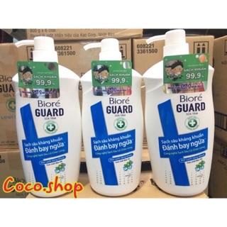 Sữa tắm Biore kháng khuẩn, tinh chất bạc hà 800g thumbnail
