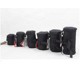 Túi đựng lens máy ảnh hình ống trúc (6 size)