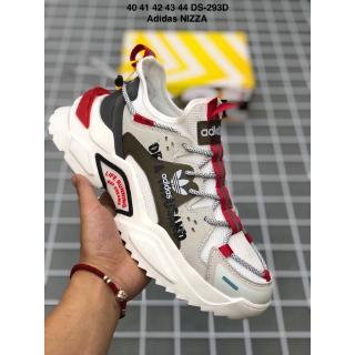 Giày thể thao nguyên bản Adidas Nizza 2020 Giày thể thao cho cha già Giày chạy bộ rộng A-1