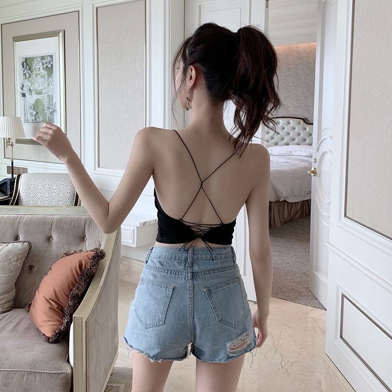woman tops Fashion vest vest Women Clothes youthful woman vest cute High quality vest simple Tops