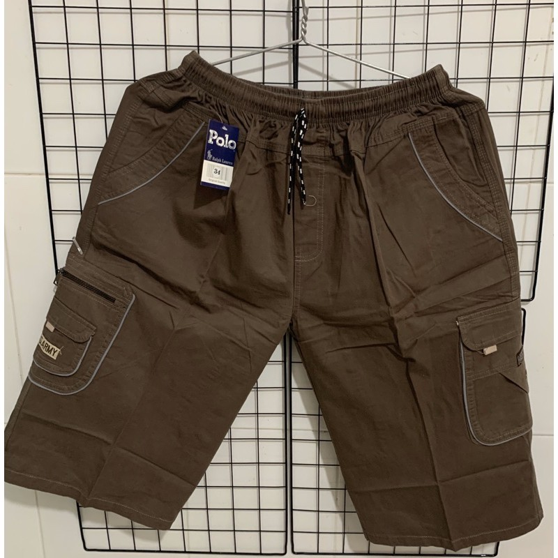 [ Mã FAMANU07 giảm 10% đơn 0đ ] Quần short nam kaki BIGSIZE < 110kg (size 28-40)