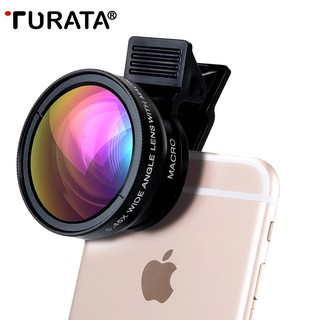 Lens Chụp Ảnh Cho Điện Thoại 2 Trong 1