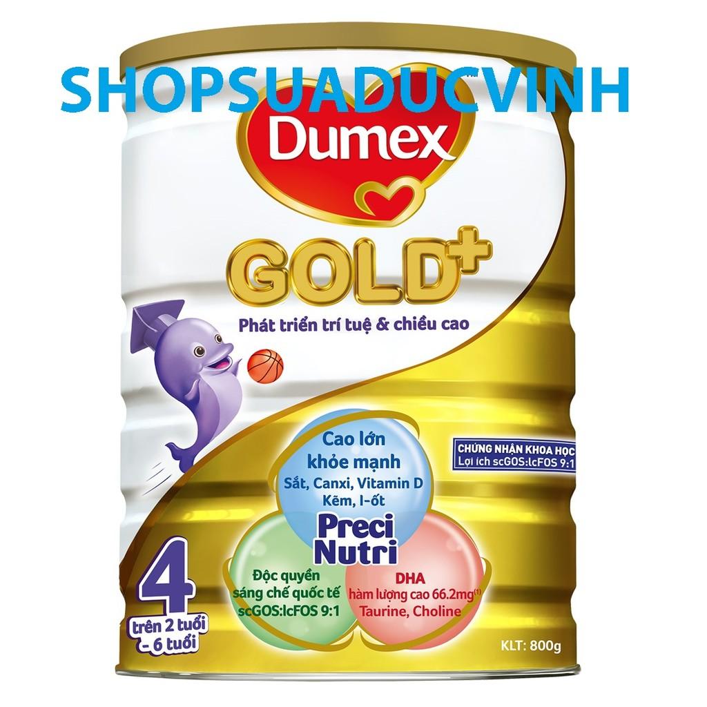 Sữa bột Dumex Gold 4 (1.5Kg) (2-6 tuổi)