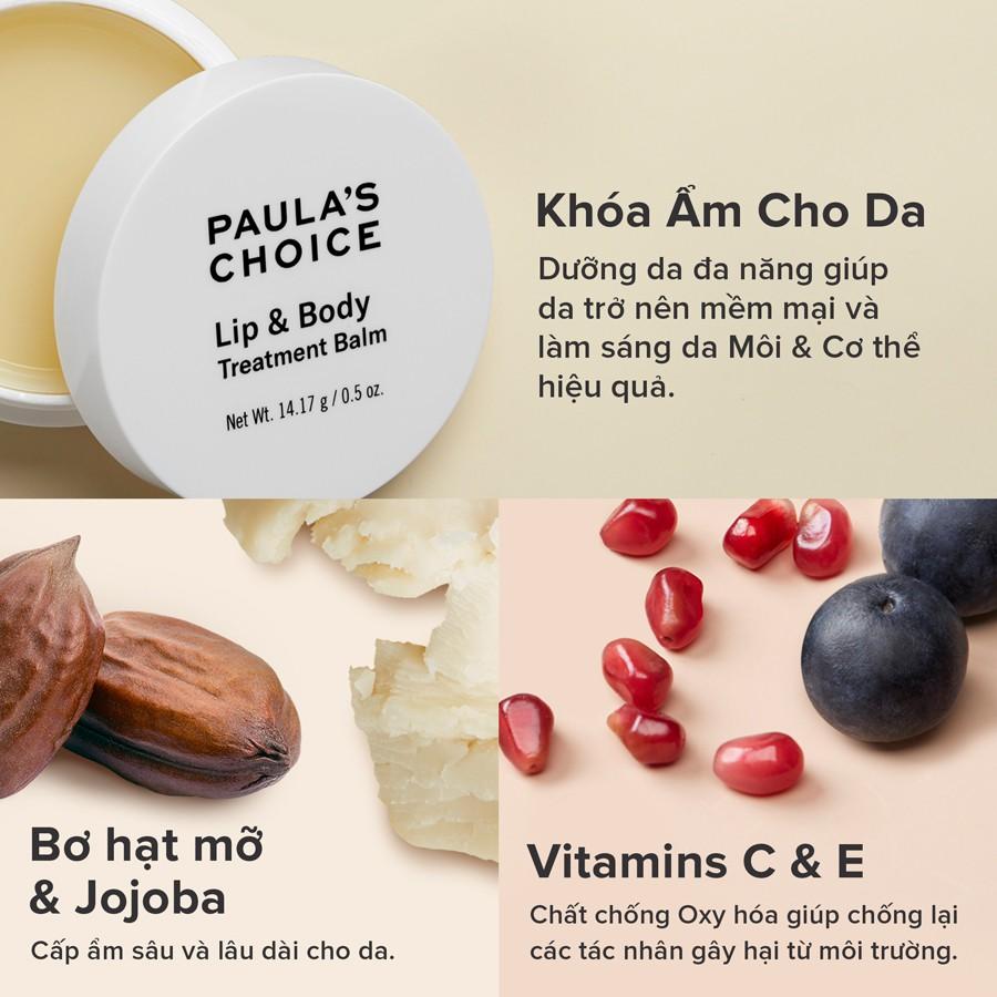 [PAULA'S CHOICE] Kem dưỡng cho vùng da khô và nứt nẻ Lip & Body Treatment Balm (Mã 5500)