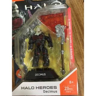 Đồ chơi mô hình nhân vật Halo Heroes Series 4 Decimus Figure Mega Construx