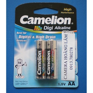 Combo 3 vỉ Pin Camelion Alkaline AA
