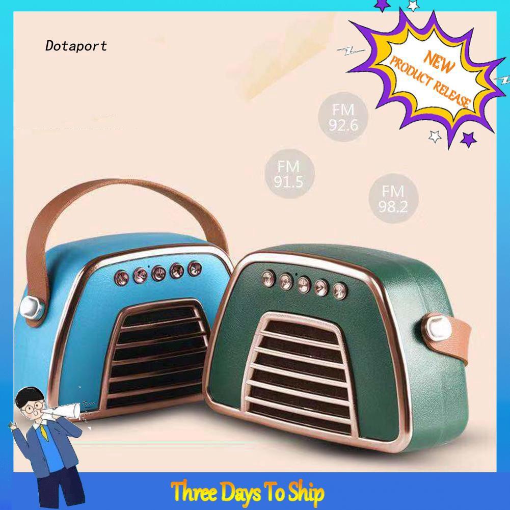Loa Bluetooth không dây kiểu dáng retro thời trang cao cấp - 23068035 , 4204061227 , 322_4204061227 , 377000 , Loa-Bluetooth-khong-day-kieu-dang-retro-thoi-trang-cao-cap-322_4204061227 , shopee.vn , Loa Bluetooth không dây kiểu dáng retro thời trang cao cấp