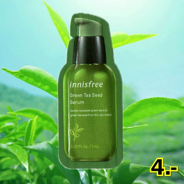 [2019!!/พร้อมส่ง] Innisfree The Green Tea Seed Serum 1ml