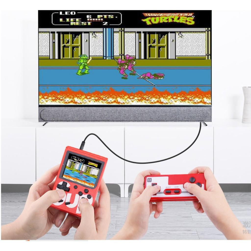 Máy chơi game đôi Sup 400 - Tặng kèm tay game - Máy Chơi Game Sup, Máy Game Cầm Tay (Màu Ngẫu Nhiên)