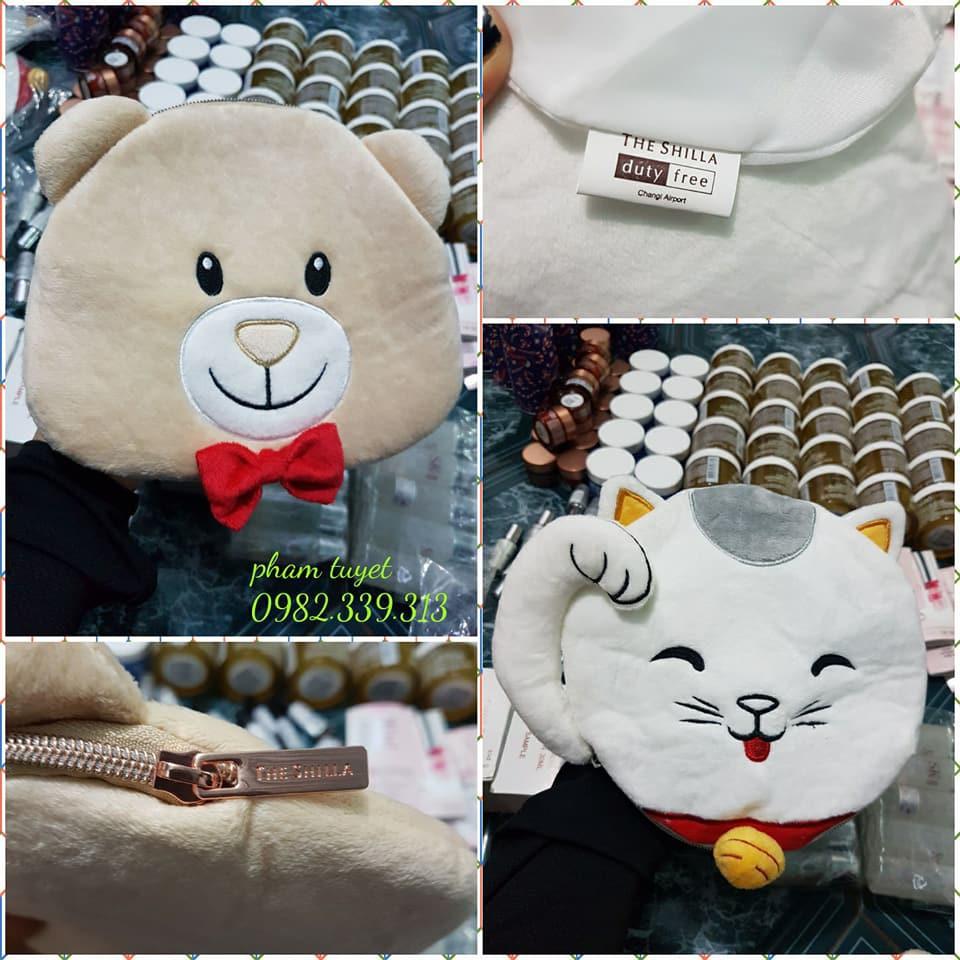 Túi gấu/mèo cute của shilla duty singapore