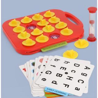 [Đồ chơi] Lianliankan cải thiện sự tập trung and rèn luyện trí nhớ Desktop Intelligence câu đố trò chơi 4-6 tuổi