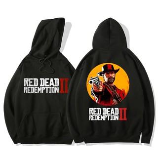 Áo Hoodie Thời Trang In Chữ Red Dead Redmption 2 2019