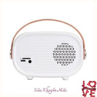 Loa Bluetooth Hoco BS16 có hỗ trợ thẻ nhớ phối hợp kiểu dáng cổ điển và hiện đại đẹp sang trọng âm thanh chất lượng