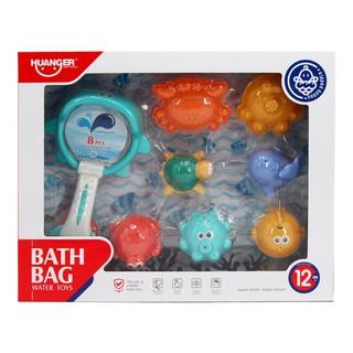 Set 8 món đồ chơi nhà tắm Huanger HE0250 thumbnail