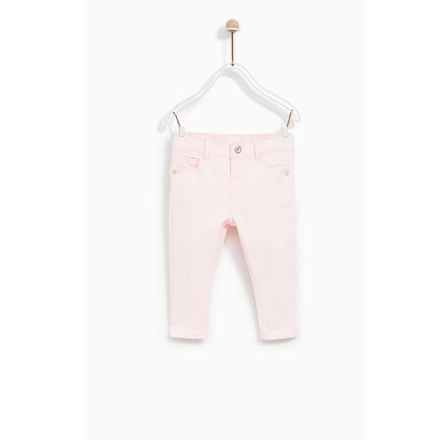 Quần Bé Gái Basic Hồng Zara