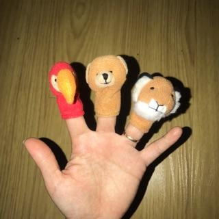 Set 3 rối ngón tay (đồ si tuyển)