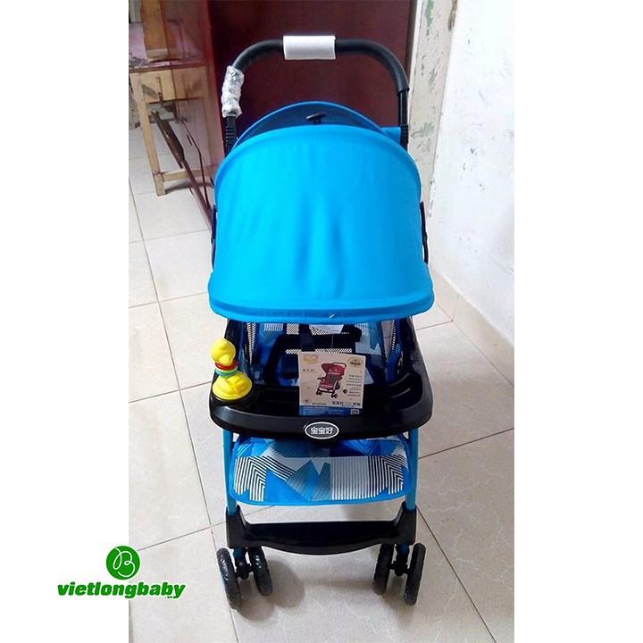 [Trợ giá] Xe Đẩy Trẻ Em Baobaohao 722C gọn nhẹ đa tư thế