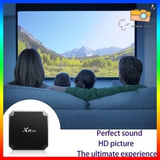 Thiết Bị Chuyển Đổi Tv Thường Thành Smart Tv X96 Mini Smart Tv Box S905W Hỗ Trợ 2.4g