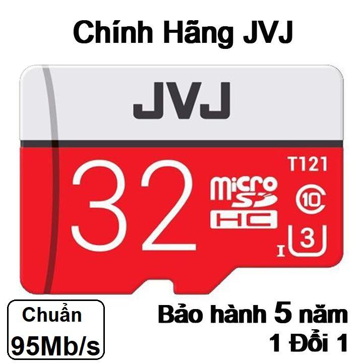 Thẻ nhớ JVJ 32G Pro U3 Class 10 – chuyên dụng cho C