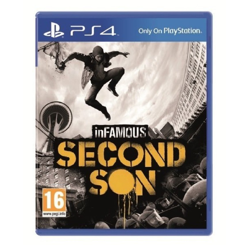 Đĩa game PS4 Sony Infamous Second Son