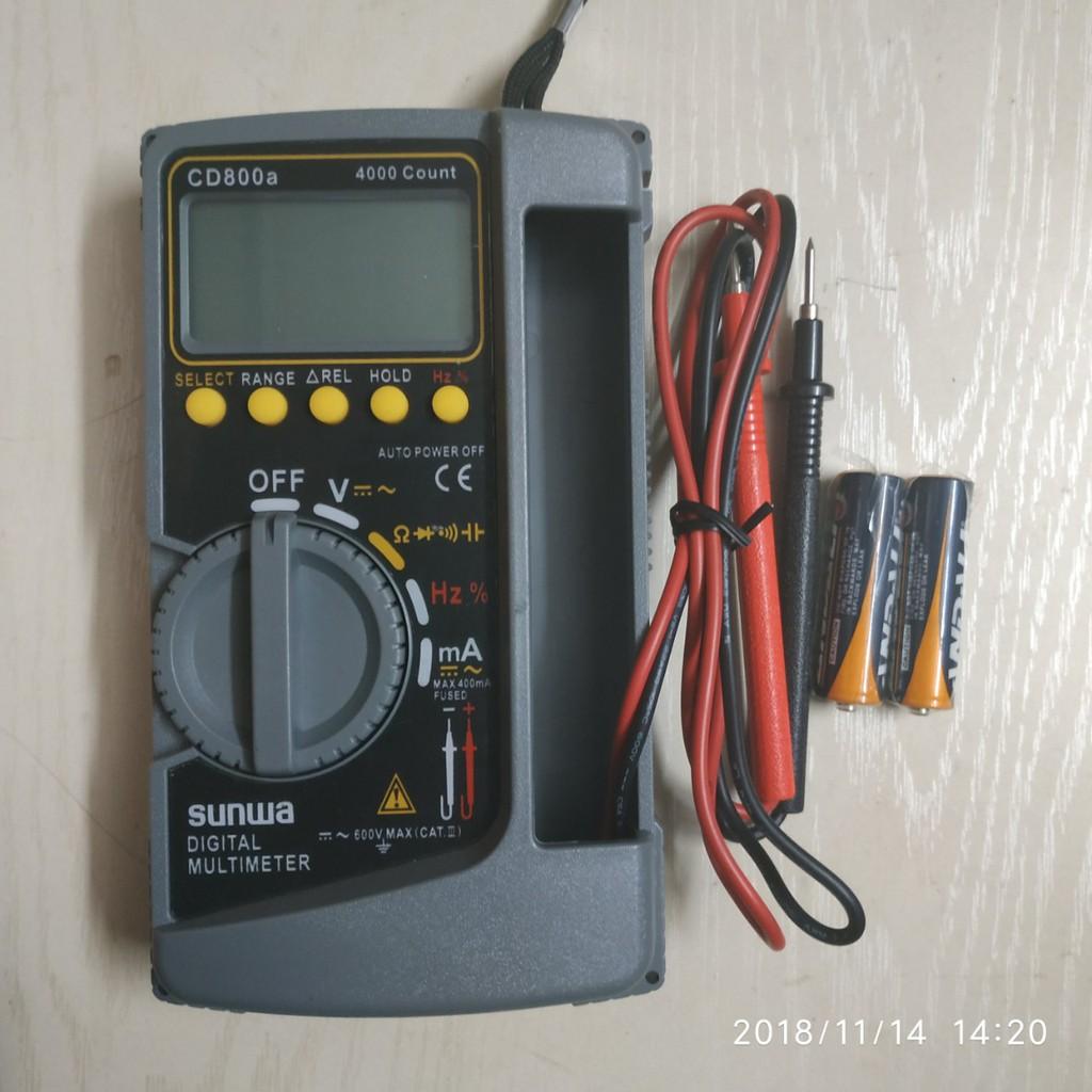 Đồng hồ vạn năng  SUNWA CD - 800A - 14072096 , 1737194659 , 322_1737194659 , 490000 , Dong-ho-van-nang-SUNWA-CD-800A-322_1737194659 , shopee.vn , Đồng hồ vạn năng  SUNWA CD - 800A