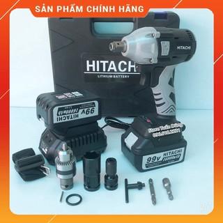 [GIÁ GỐC] máy xiết bulong Hitachi 99v 16000mAh tặng kèm đủ phụ kiện [CAM KẾT CHÍNH HÃNG]