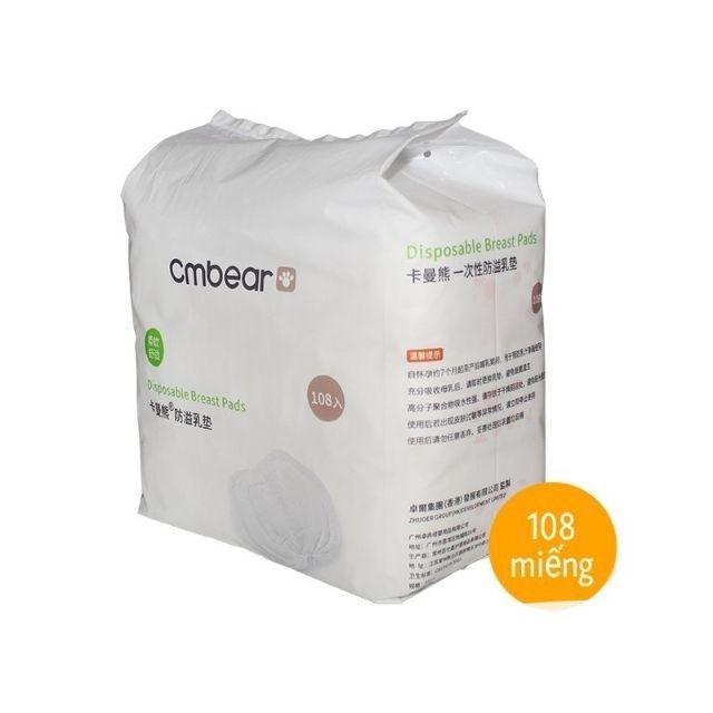 Miếng lót thấm sữa Cmbear (108 miếng)