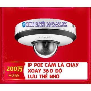 Camera IP POE 2Mp Imou TS1P quay quét PTZ – Chạy độc lập hoặc kết nối đầu ghi