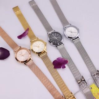 Đồng hồ nữ Julius Hàn Quốc chính hãng JA-732 dây thép nhuyễn, 5 màu