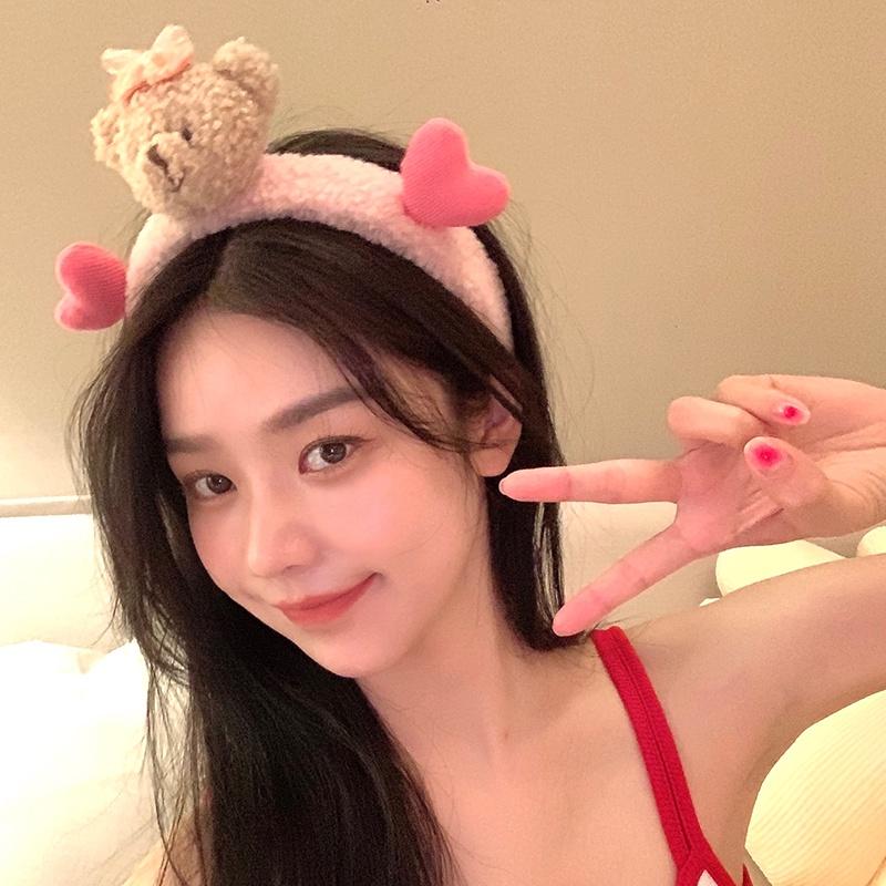 Băng đô cài tóc phong cách Hàn Quốc dễ thương