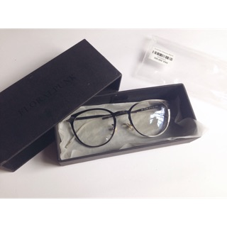|Floral Punk| Yoshida glasses black