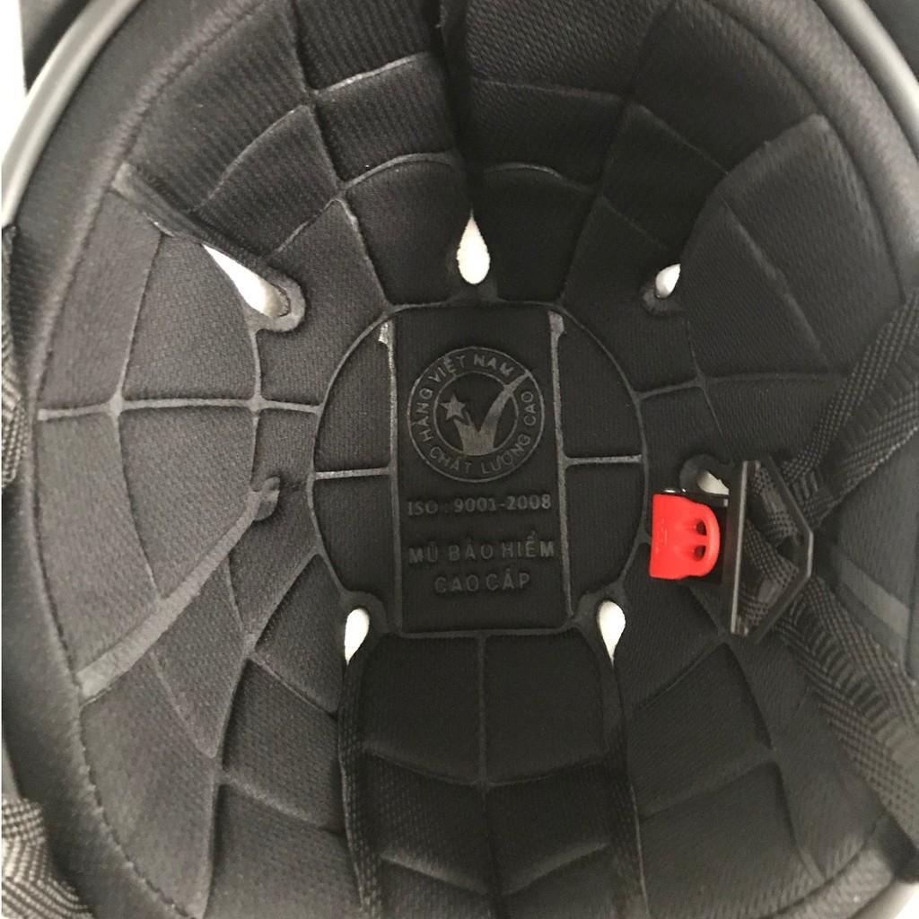 [Sales khủng] Nón bảo hiểm sơn cao cấp 2 lỗ thông hơi- Mũ bảo hiểm