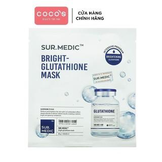 [Mã FMCGMALL - 10% đơn 250K] Mặt nạ SURMEDIC Mask Dưỡng Trắng Da 30g - Bright Glutathione