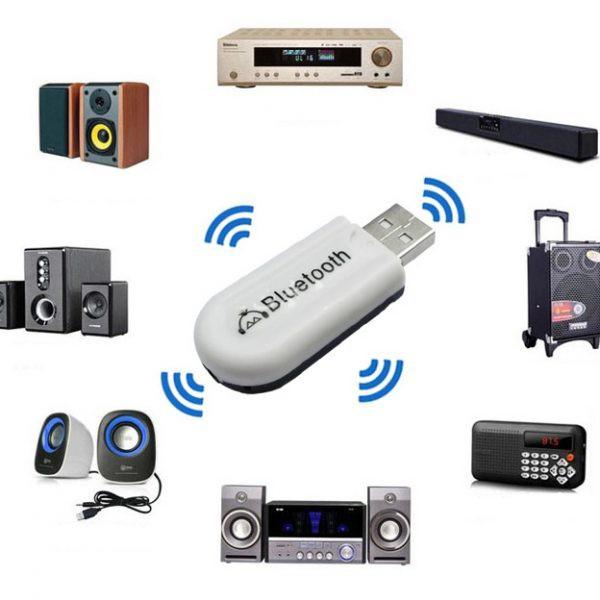 USB Bluetooth kết nối loa âm thanh HJX - 001 (chuyển những loa, amply không có bluetooth thành có bluetooth)