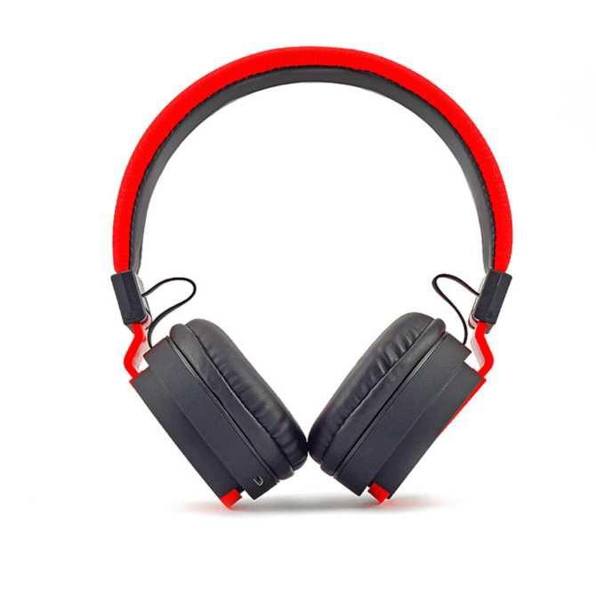 Tai nghe chụp tai Bluetooth, Tai nghe không dây Air One, Tai nghe thể thao ( Red)