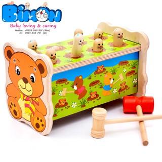 Bộ đồ chơi đập chuột 2 búa– đồ chơi vận động dành cho bé