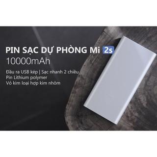 Pin Sạc dự phòng 10.000 mAh Xiaomi Mi 2s